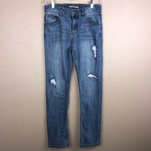 Boys Tommy Hilfiger Sz 14 Distressed Skinny Jeans
